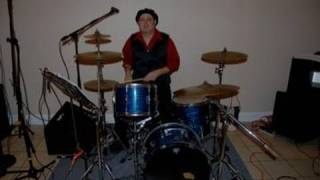 "DrummerShawn first video  ""Fatback"" groove"