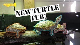 110 Gallon INDOOR Turtle POND!!!