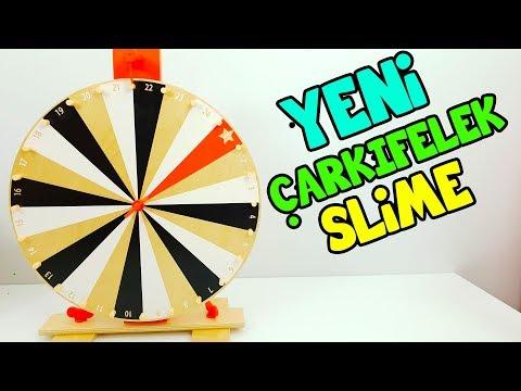 YENİ Çarkıfelek Slime Challenge - Zengin vs Fakir Slime - Eğlenceli oyun - Vak Vak TV