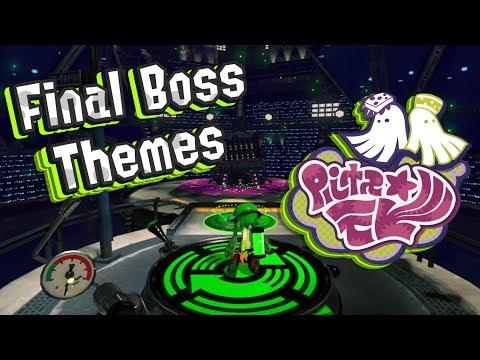 Splatoon 2- FINAL BOSS MUSIC (All Phases!!) minor spoilers
