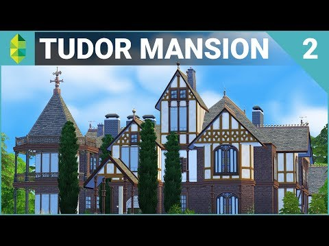 Tudor MANSION 64x64! (Furnish Part 2) | The Sims 4 House Bui