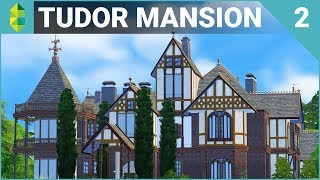 Tudor MANSION 64x64! (Furnish Part 2)   The Sims 4 House Building