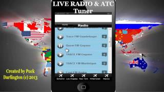PUX  ANDROID APP : LIVE Radio and Air Traffic Controle Tuner - LINK