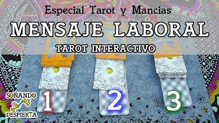 TAROT INTERACTIVO 2 ►  ⚝ El MENSAJE LABORAL que ESPERAS ⚝