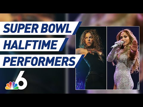 Brody - J-Lo and Shakira to perform at SuperBowl Half Time Show