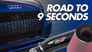 First Power Mod for the TTRS! - Road to 9 Seconds - APR Inlet & Intake