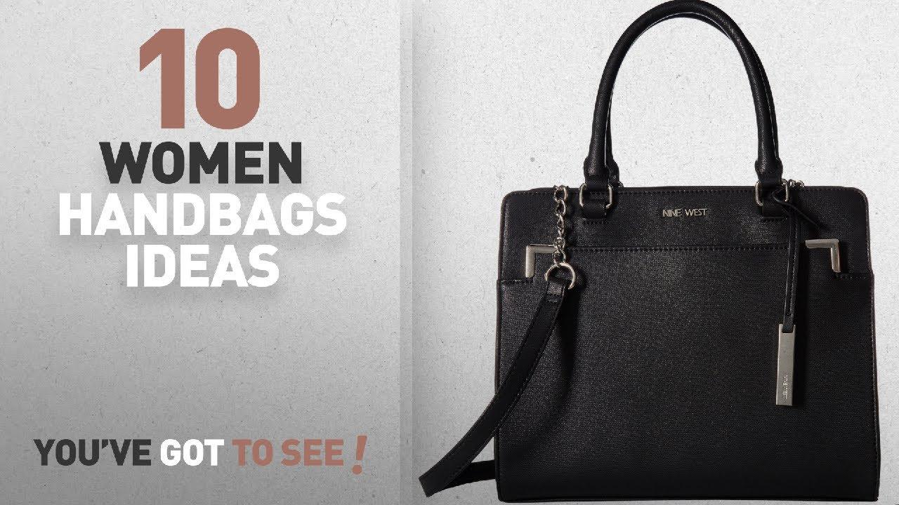 d94d34bafd3 Top 10 Nine West Handbag   Winter 2018    Nine West Women s Domenica Black  One Size