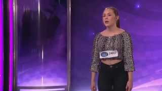 Sofia Pettersson - Wake me up (hela audition) - Idol Sverige (TV4)