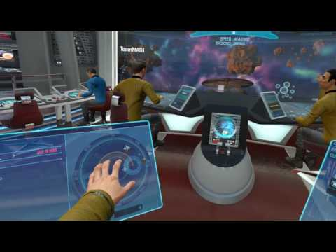 Casual Role Playing in VR - Star Trek Bridge Crew