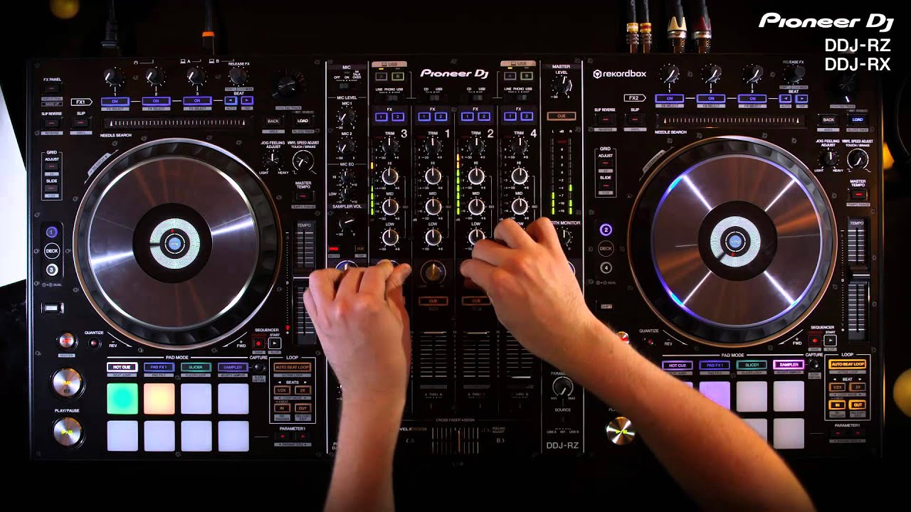 Mesa De Dj Online Pioneer Dj Ddj Rz Ddj Rx Official Introduction