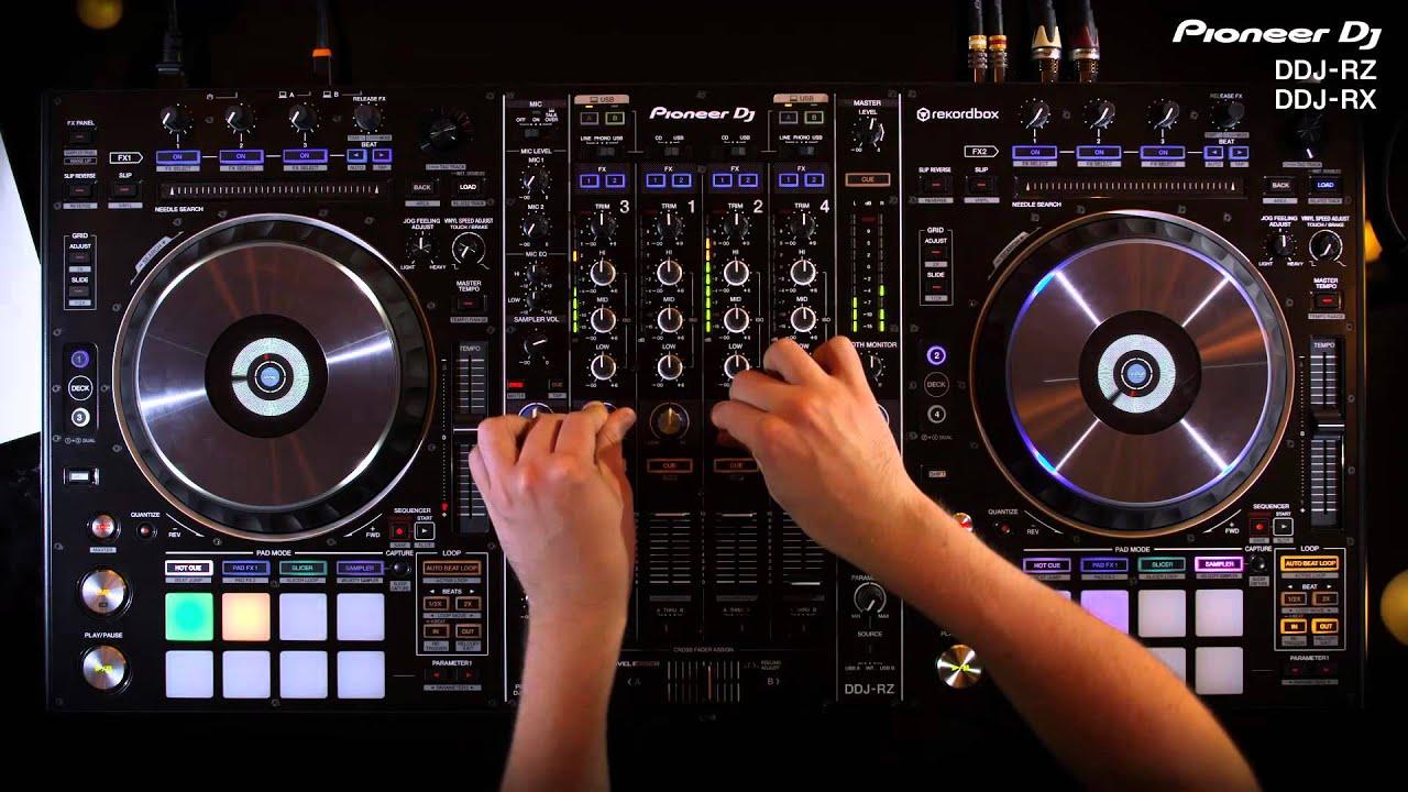 Pioneer Dj Ddj Rz Amp Ddj Rx Official Introduction Youtube