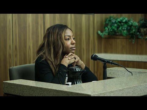 Charlo Greene defends herself in court