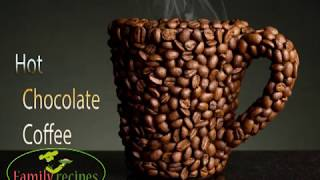 Easy Hot Chocolate Coffee||by family recipes
