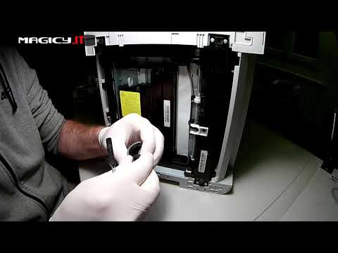 Samsung CLX-3305 - Replacing The Pickup Roller