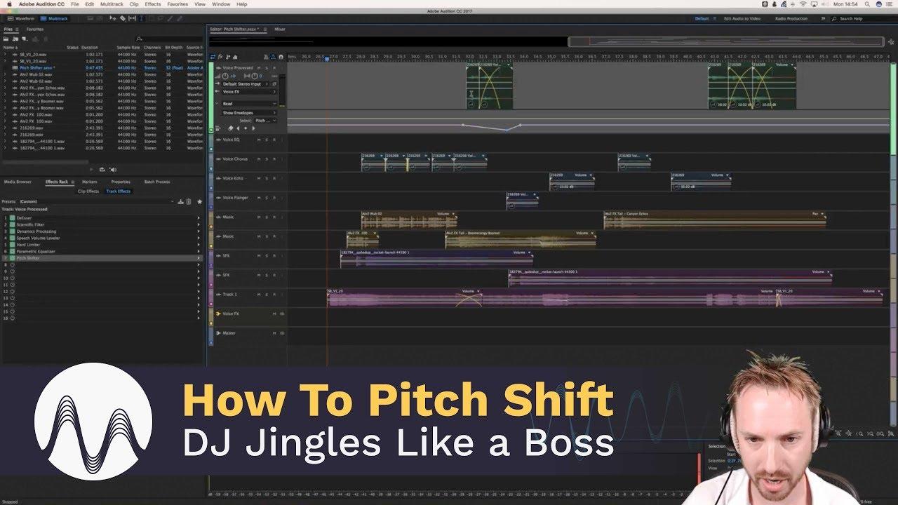 How to Pitch Shift DJ Jingles Like a Boss