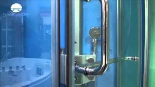 Душевое ограждение Appollo TS 0259(Appollo TS-0259 -- это классическое душевое ограждение, без крыши и с душевым нескользким поддоном. Дверь стеклянна..., 2014-07-08T09:38:12.000Z)