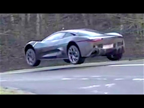 James Bond Jaguar CX75 SPECTACULAR Test Footage Jaguar Spectre CARJAM TV HD    YouTube