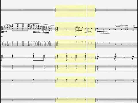 ジャンゴラインハルト マイナースイング  ギタータブ譜/Django Reinhardt Minor Swing version 1937 Guitar tab