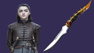 ARYA'S STARK DAGGER — Game of Thrones