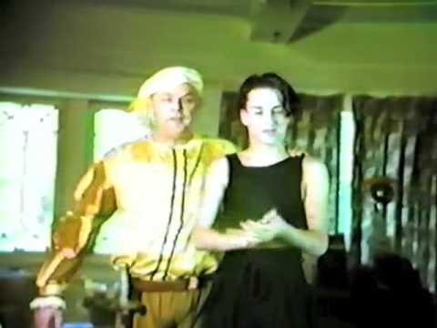 Alexis and Lewis Arquette: Off to Renaissance Faire!
