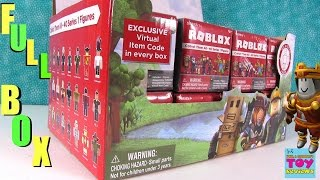 Roblox Full Case Mystery Surprise Blind Bags Box Game Figures Unboxing | PSToyReviews
