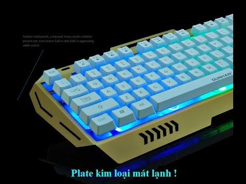 Bàn phím giả cơ full led – K 03 ( fake mechanical keyboard K-03 )
