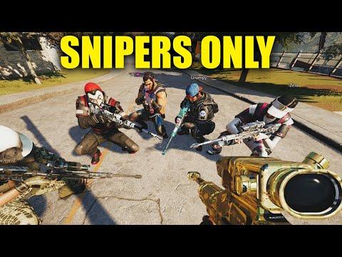 EVERYONE MUST QUICKSCOPE! - Rainbow Six Siege (mod)  