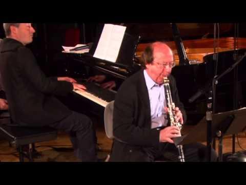 Michel Lethiec - Itamar Golan - Sonate de Poulenc pour clarinette et piano - Poulenc Clarinet Sonata