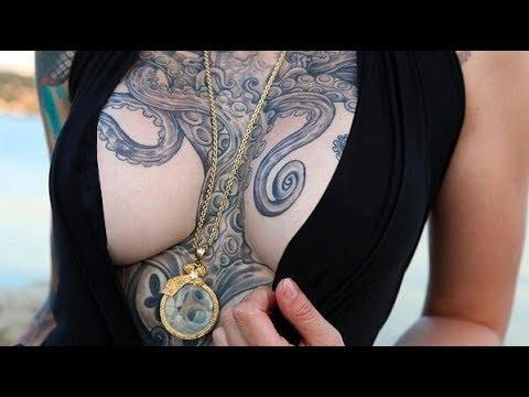 Tatuajes Del Kraken Y De Pulpos Youtube