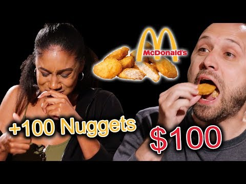 $100 Chicken Nugget Eating Competition