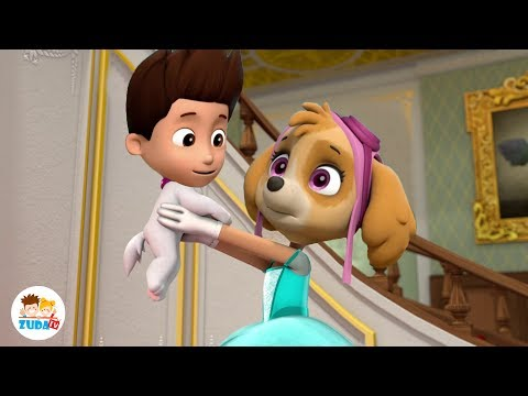 PAW PATROL FACE SWAP - Mighty Pups Episode 6