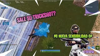 You have to try this sensitivity . . . . . . . . . . . . . They were from the aimbot pa mando - Fortnite Chile