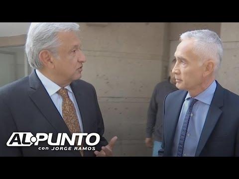 """""""No tengo nada que temer, ni que ocultar. Tengo mi conciencia tranquila"""": López Obrador"""
