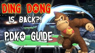 Ding Dong is back? pDKO: Donkey Kong's NEW Ding Dong in Smash Ultimate