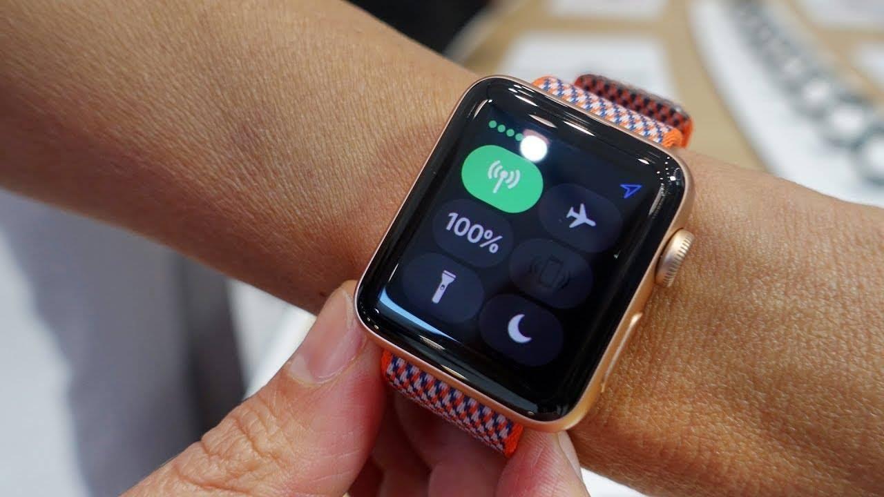 تعرف على الامكانيات التكنولجيا لساعة Apple Watch Series 3
