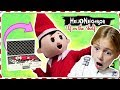 CAUGHT MOVING in REAL LIFE! | Hello Neighbor and Elf on The Shelf GAME!