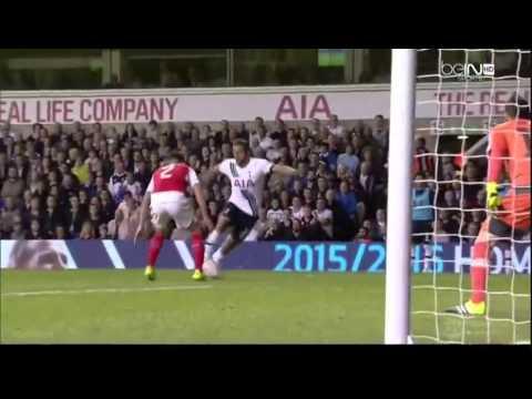 Tottenham Hotspur vs Arsenal 1-2 ALL Goals and Highlights 2015