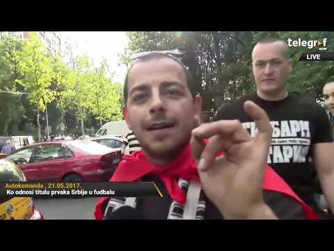 Makedonski prorok! Prešao preko 600 kilometara da bi gledao Partizan i pogodio rezultat
