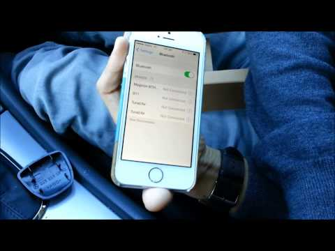 Viseeo MB-4 handsfree for Mercedes Benz unboxing, installing and testing Siri in iPhone 5