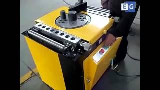 видео Станок для гибки арматуры gw40