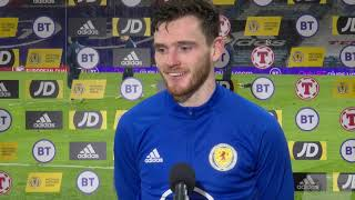 REACTION | Andy Robertson | Scotland 4-0 Faroe Islands | FIFA World Cup Qualifier