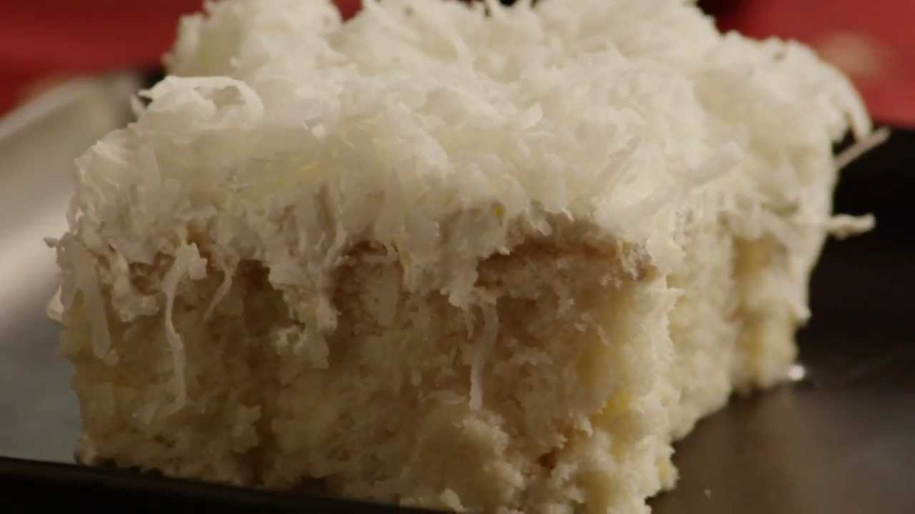 How To Make Coconut Pudding Cake