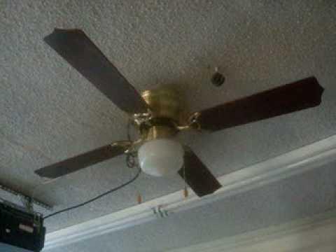 Aloha Breeze 42 Quot Hugger Ceiling Fan Youtube
