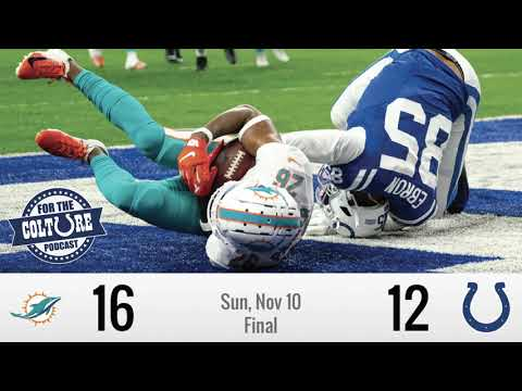 Week 10 Recap: Colts (12) Vs Dolphins (16) | Hoyer Throws 3 Picks In Loss To Phins