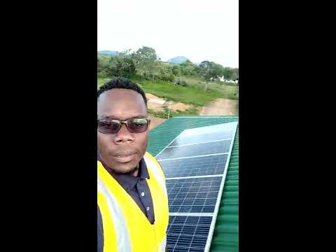 Solar off-grid System in rural Zimbabwe