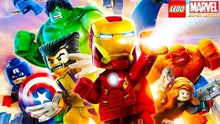 Let's Play: LEGO MARVEL SUPER HEROES!!! - Hike Plays LEGO MARVEL SUPER HEROES | HikePlays