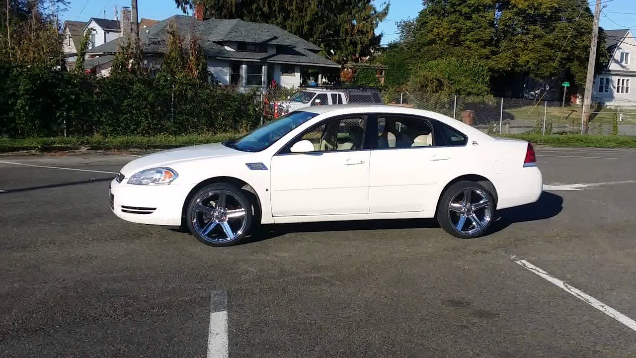 08 Impala On Irocs Youtube