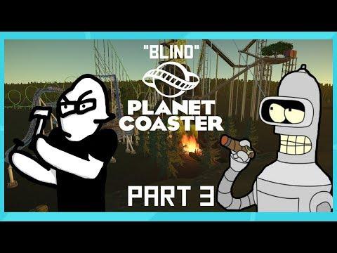 Jom gets upset - Blind Planet Coaster - Part 3 - HepLine