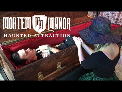 Buried Alive at Mortem Manor |  Florida's ONLY Year Round Haunted Attraction