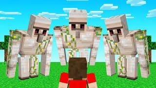 GUESS WHO With IRON GOLEMS! (Minecraft)